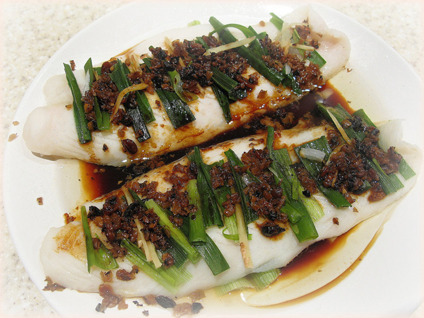 Chinese kung fu steamed fish good cooking for Chinese steamed fish recipe