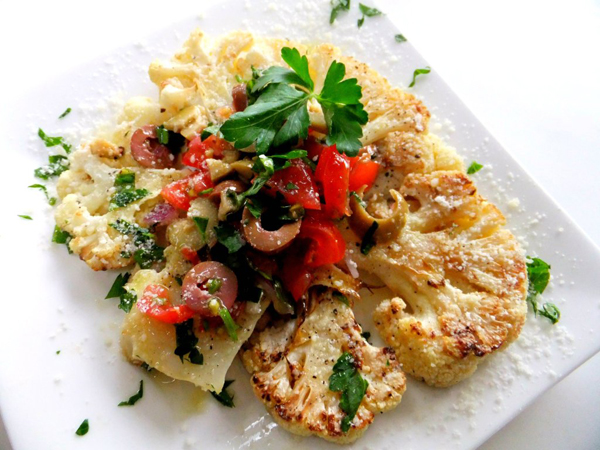 "Cauliflower ""Steaks"" | Good Cooking"