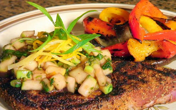 Pork Chops With Apple Chutney Recipe — Dishmaps