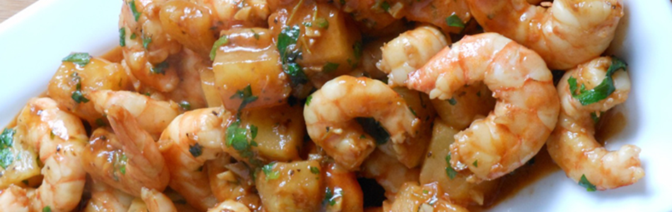 Pinaple Shrimp