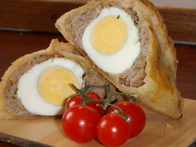 Scotch Egg Pasties