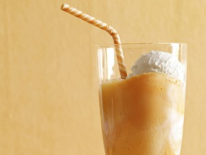 Smoky Creamsicle Float