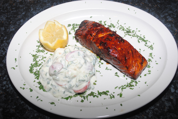 Soya Marinated Salmon