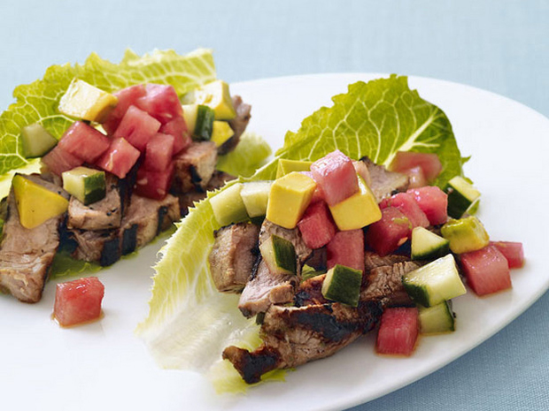Watermelon Pork Tacos