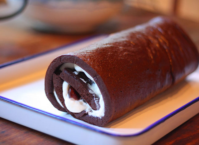 Christmas Chocolate Roll