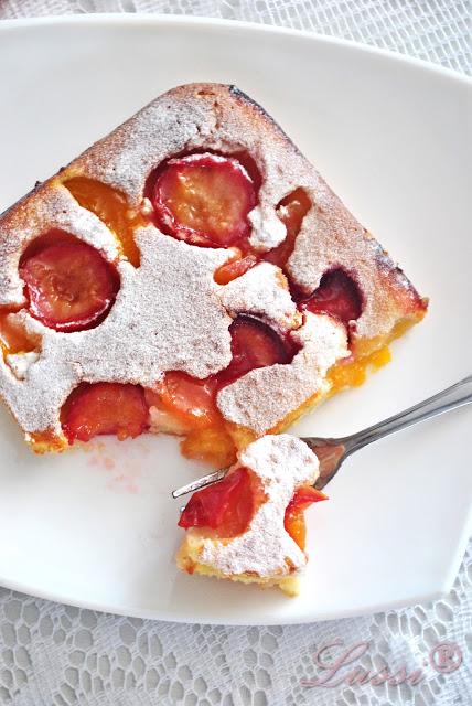 Apricot Plum Cake