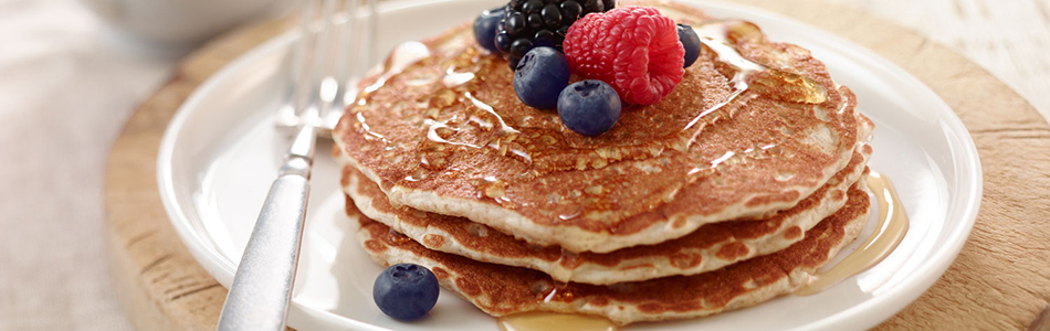 Delicious Bran Pancakes Recipe