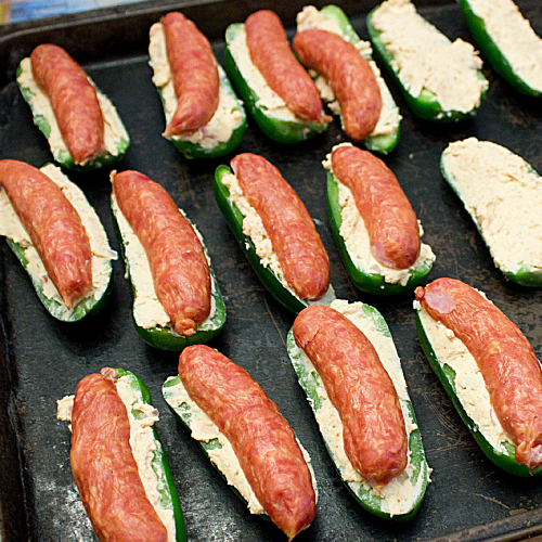 Jalapeno Rolls with Bacon and Sausage