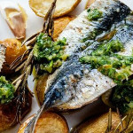 Sardines and Salsa Verde