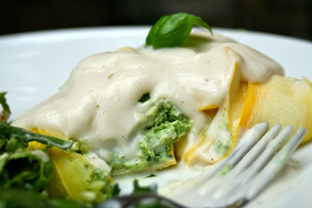 Chicken and Spinach Ravioli Recipe