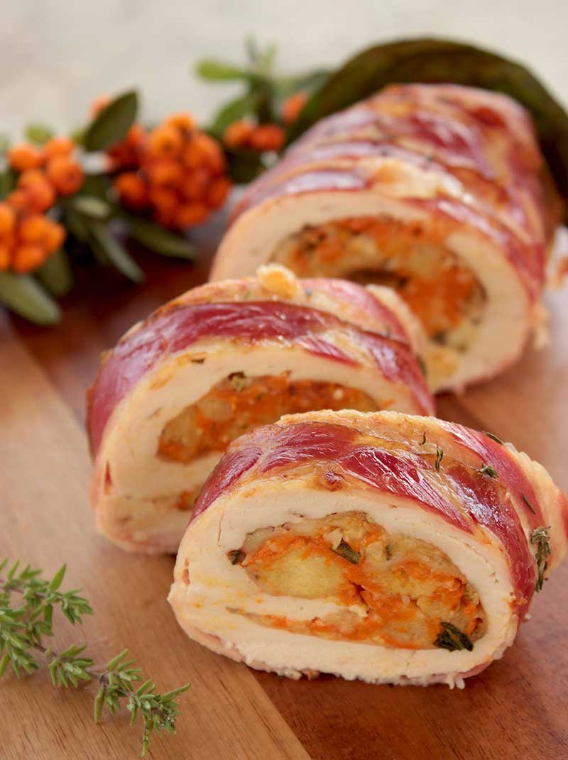 Christmas Turkey Roulade