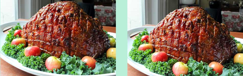 Crispy Honey Glazed Ham