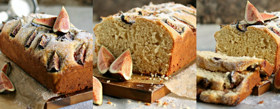 Summer Yogurt Fig Cake Recipe