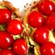 Mashed Avocado and Cherry Tomatoes Sandwich